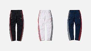 ENCOMENDA - KITH x Adidas - Calça 3-Stripes Track Pant