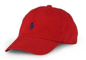 "Polo Ralph Lauren - Boné Baseball ""Red"""