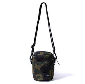 """BAPE - Bolsa Shoulder 1st Camo Camera Pouch """"Green"""""""