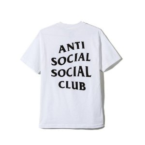 "ANTI SOCIAL SOCIAL CLUB - Camiseta Logo ""White"""