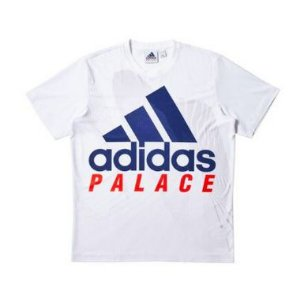 "Palace x Adidas - Camiseta Interview On Court ""White"""