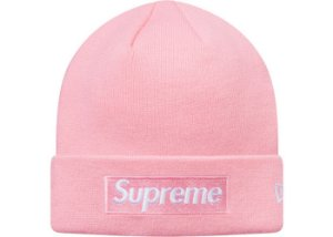 "Supreme x New Era - Touca Box Logo ""Pink"""