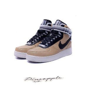 "NIKE x RICCARDO TISCI - Air Force 1 Mid ""Tan"" -USADO-"