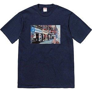 "SUPREME - Camiseta Hardware ""Navy"""