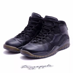 "Nike Air Jordan 10 Retro x OVO ""Black"" -USADO-"