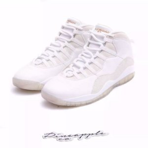 "Nike Air Jordan 10 Retro x OVO ""White"""