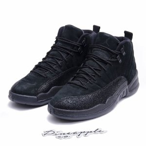 "NIKE x OVO - Air Jordan 12 Retro ""Black"" -USADO-"