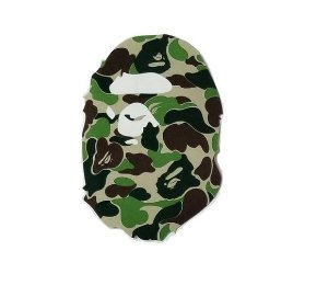 """BAPE - Adesivo Ape Head Camo """"Green"""""""