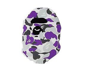 "BAPE - Adesivo Ape Head Camo ""Purple"""