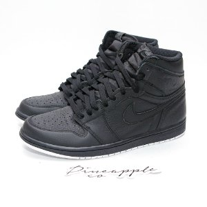 "Nike Air Jordan 1 Retro ""Black Perforated"""