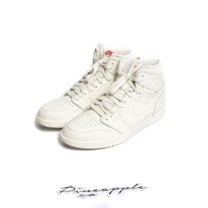 "Nike Air Jordan 1 Retro ""Sail"" -USADO-"