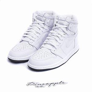 "Nike Air Jordan 1 Retro ""White Perforated"" -NOVO-"