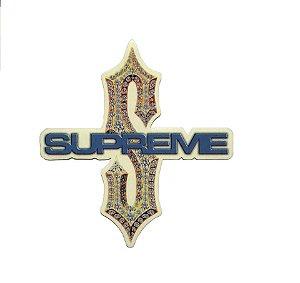 SUPREME - Adesivo Diamond