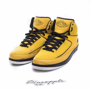 "NIKE - Air Jordan 2 Retro QF Candy Pack ""Yellow"" -USADO-"