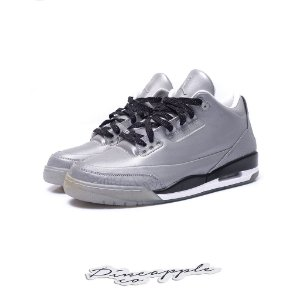 "Nike Air Jordan 3 Retro 5Lab3 ""Silver"""