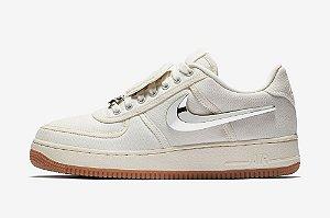 "ENCOMENDA - Nike Air Force 1 Low Travis Scott ""Sail"""