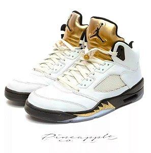"""Nike Air Jordan 5 Retro """"Olympic"""""""