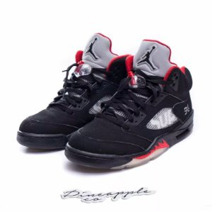 "Nike Air Jordan 5 Retro x Supreme ""Black"""