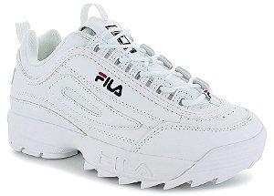 """ENCOMENDA - FILA Disruptor 2 (Masculino) """"White"""""""