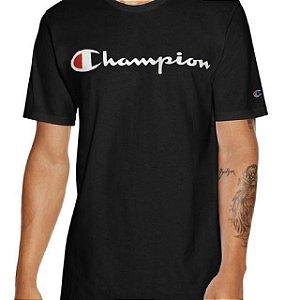 """CHAMPION - Camiseta Script Logo """"Black"""""""