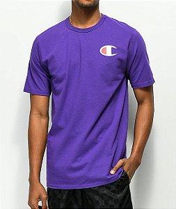 """CHAMPION - Camiseta Graphic C """"Purple"""""""