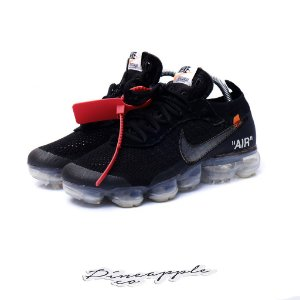 "Nike Air VaporMax x OFF-WHITE ""Black"" -USADO- (2018)"