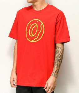 "ODD Future - Camiseta Classic Donut ""Red"""