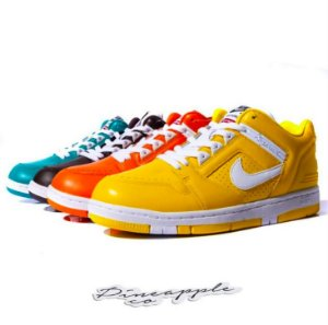 Nike SB Air Force 2 Low x Supreme PACK (Yellow/Orange/Blue/Brown)