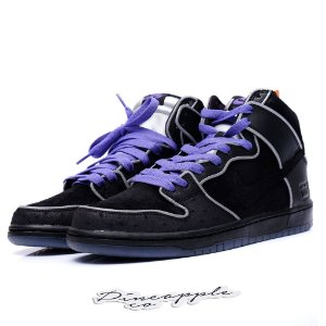 "Nike SB Dunk High ""Black/Purple Box"""