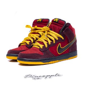 "Nike SB Dunk High Premium ""Iron Man"""