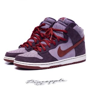 "Nike SB Dunk High Premium ""Plum"""