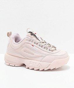 """ENCOMENDA - FILA Disruptor 2 (Feminino) """"Pink"""""""
