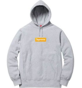 "SUPREME - Moletom Box Logo FW17 ""Heather Grey"""