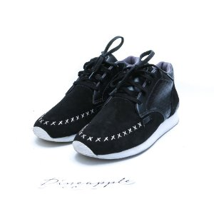 "VERT - Memory Suede Leather ""Black"" -USADO-"