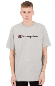 "CHAMPION - Camiseta Graphic Jersey ""Cinza"" -NOVO-"