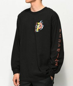 "Primitive x Dragon Ball Z - Camiseta Shenron Club ""Black"""