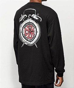 "Thrasher x Independent - Camiseta Time To Go ""Black"""