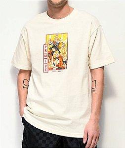 "Primitive x Dragon Ball Z - Camiseta Goku Super Saiyan ""Cream"""