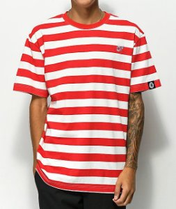 "ODD Future - Camiseta Stripe Knit ""Red/White"""