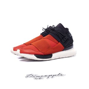 "adidas Y-3 Qasa High ""Black/Red"""