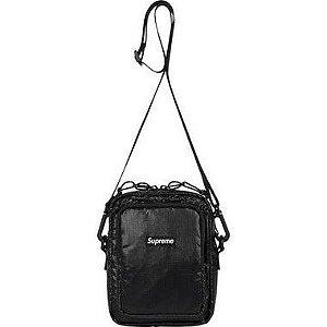 """SUPREME - Bolsa Shoulder Bag FW17 """"Black"""""""