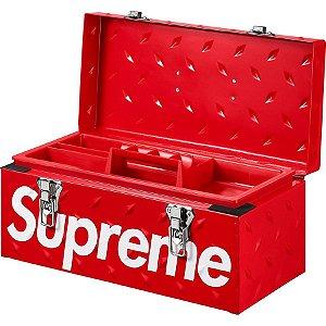 """ENCOMENDA - SUPREME - Caixa De Ferramentas Diamond Plate """"Red"""""""