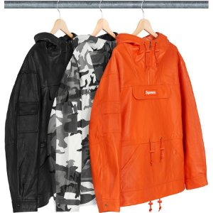 ENCOMENDA - SUPREME - Jaqueta Leather Anorak