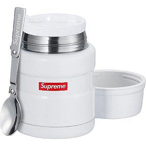 ENCOMENDA - Supreme x Thermos - Marmita King Food + Colher
