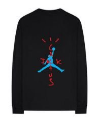 "NIKE - Camiseta Travis Scott Air Jordan Cactus ""Black"""