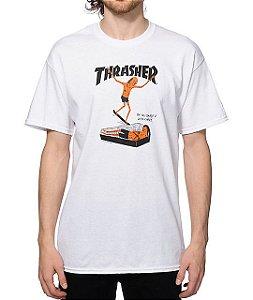 """THRASHER - Camiseta Neck Face """"White"""""""