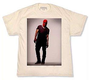 """Kanye West - Camiseta Yeezus Tour """"Bege"""""""