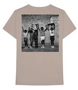 """Nas - Camiseta Nasir """"Bege"""""""