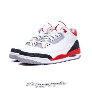 "Nike Air Jordan 3 Retro ""Fire Red"""