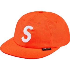 "SUPREME - Boné S Logo Cordura 6-Panel ""Neon Orange"""